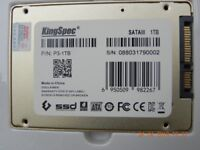 One TB of SSD Sata 3 internal hard drive for Apple and all Manufactures