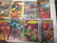 small sized comics books 200 piece joblot