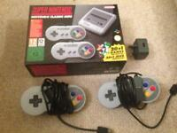 Super Nintendo Classic Mini + extension cabless