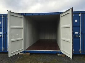 Container Storage. £15.00 per week. Secure site with 24/7 access.