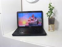 Toshiba laptop i3 processor, 4GB RAM, SSD, Office, Win10