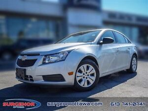2014 Chevrolet Cruze 1LS  - $82.65 B/W  - Low Mileage