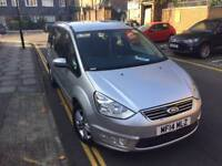 Ford Galaxy 2014 with very low mileage