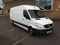 "2013 Mercedes Sprinter 313 CDi LWB 133k Hi Roof Panel Van 1 Owner Full SH Long MOT ""NO VAT"""