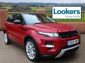 Land Rover Range Rover Evoque SD4 DYNAMIC (red) 2014-04-30