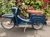 Simson schwalbe moped