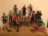Selection of Retro Action Men
