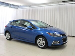 2017 Chevrolet Cruze LT 5DR TURBO RS PACKAGE w/ REAR CAMERA, HEA