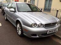 jaguar x type diesel 2008