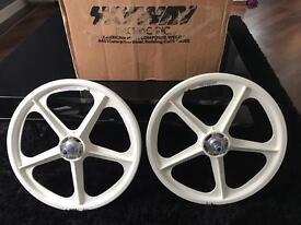 Skyway BMX Anniversary Tuff Wheels Brand New Boxed