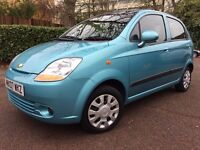 CHEVROLET MATIZ 0.8 AUTOMATIC 2007, ONLY 17000 MILES! STUNNING! FULL SERVICE HISTORY, OUTSTANDING!