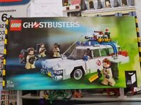 Lego Ideas Ghosbusters Ecto-1 From the 80's film (Lego Set 21108) Now Retired