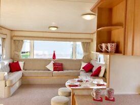 EXCELLENT VALUE!! Huge sited caravan,holiday home, Nr Wells & Hunstanton, Pet friendly, beach 200m