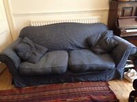FREE big blue sofa