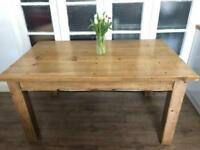 HALO design oak table Free delivery Ldn🇬🇧SOLID WOOD rustic/farmhouse