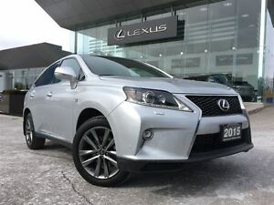 2015 Lexus RX 350 F Sport AWD Navi Back Up Cam Leather Bluetooth