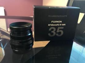 Fuji 35mm f2 WR - Mint Condition