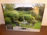 NEW Tesco Hawaii 6 piece garden furniture set