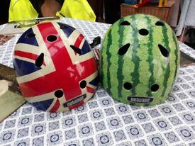 Children's cycle helmets