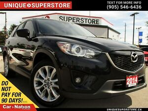 2014 Mazda CX-5 GT | AWD | LEATHER | CAMERA | SUNROOF |