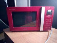 Daewoo Red Microwave KOR-6A0RR