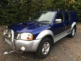 NISSAN NAVARA D22 2.5 DI 4x4 PICK UP - LONG M.O.T *LIKE HILUX*L200*ISUZU