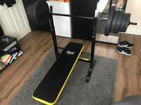 Everlast Bench Press + 50kg weights
