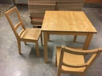 Kitchen Table & Two Chairs