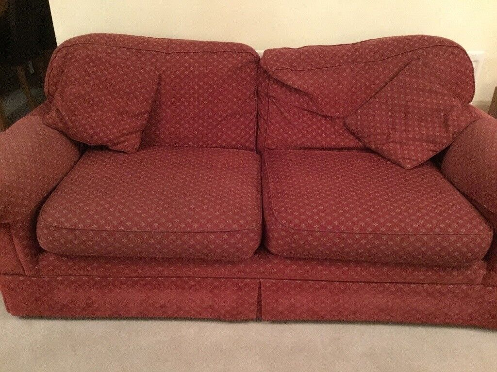 M S Large Sofa And 2 Matching Chairs In Leicester  ~ Matching Sofa And Chairs