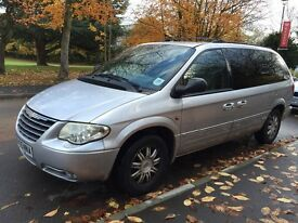 Chrysler Grand Voyager 2.8 CRD Limited 5dr MOT 1 Year !!! QUICK SALE!!!