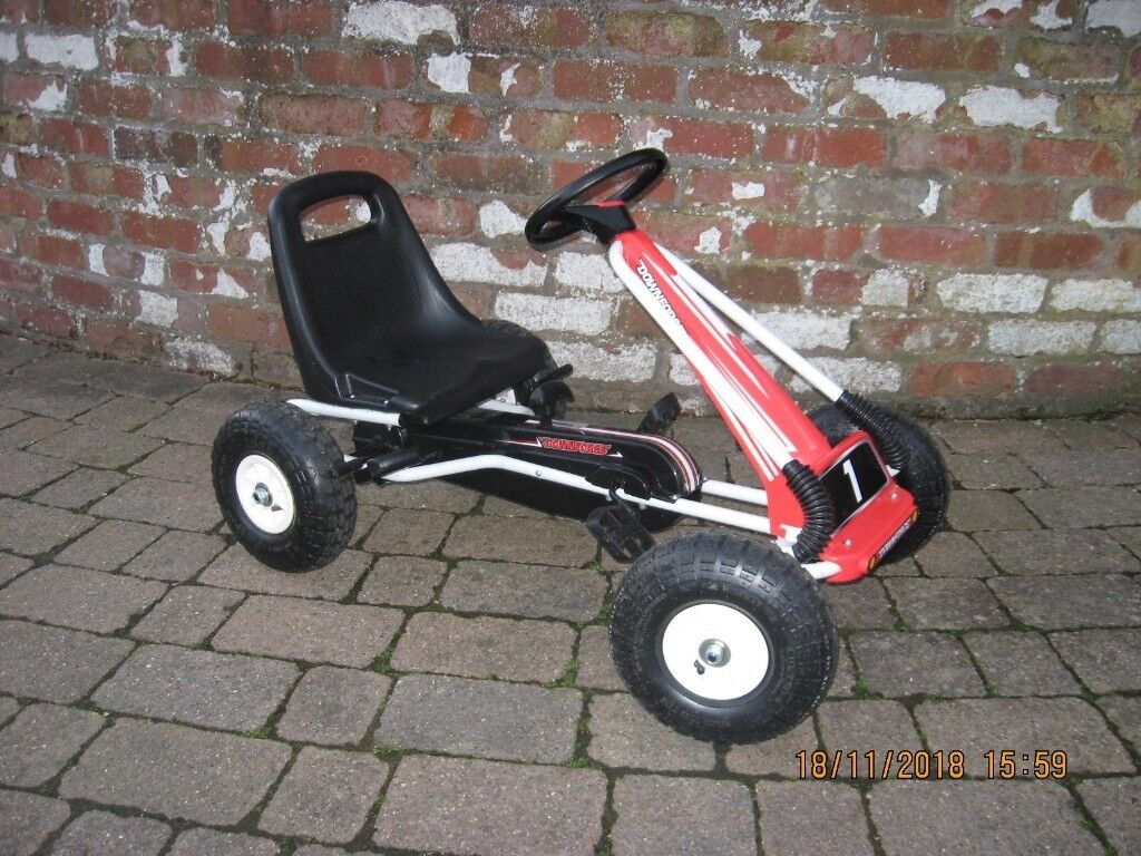 Downforce Go Kart Kids Children Junior Outdoor Pedal Ride On Car Handbrake    in Carlisle, Cumbria   Gumtree