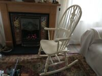 rocking Chair Wooden. Good Condition