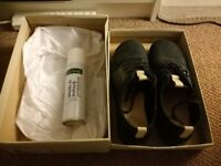Clarks Nubuck Leather Size 8 Shoes - worn once!! Includes protective spray