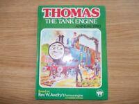 Signed Rev Audrey Thomas the tank engine