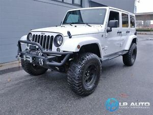 2014 Jeep Wrangler Unlimited Sahara! Manual Trans! Navigation!