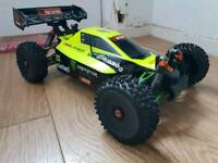 Hpi Trophy Buggy Flux. Upgraded. 4s Ready. Brushless Rc Car Buggy