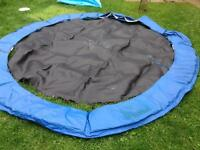 8 foot Plum Products trampoline for garden