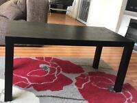 FREE BLACK COFFEE TABLE