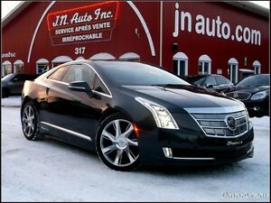 2014 Cadillac ELR Luxury Hybrid branchable,Électrique + Essence,