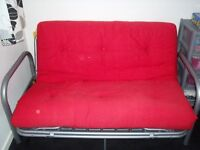 Stylus Sofa Bed Settee ( RED)