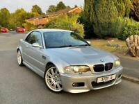 2001 BMW M3 3.2 Low Genuine Mileage 96k + Fsh + 2 Keys! + Hpi Clear!