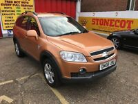 2008 CHEVROLET CAPTIVA 2.0 DIESEL MANUAL NEW MOT 96 000 MILES
