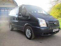 FORD TRANSIT 2.2 280 LIMITED TOURNEO 9 SEAT FACTORY MINI BUS 12 (blue) 2013
