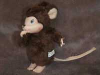 """Wanted: Vintage Monchichi mouse rat 6"""" chicaboo"""