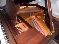 BABY GRAND PIANO BY J broadwood 4FT