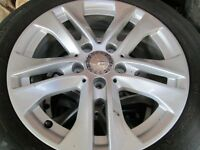 """GENUINE MERCEDES C CLASS 16""""ALLOY WITH OR WITH TYRES"""