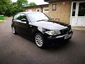 Bmw 116 black clean for the milage.