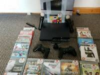 Playstation 3 320GB + many games + 2x Dual Shock