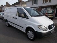 2008 Mercedes Vito 2.2cdi LWB clean van lots of money spent NO VAT mot 7/2/19