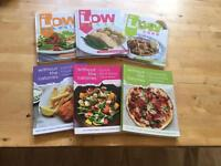 6 cookbooks for dieting slimming weight loss or management